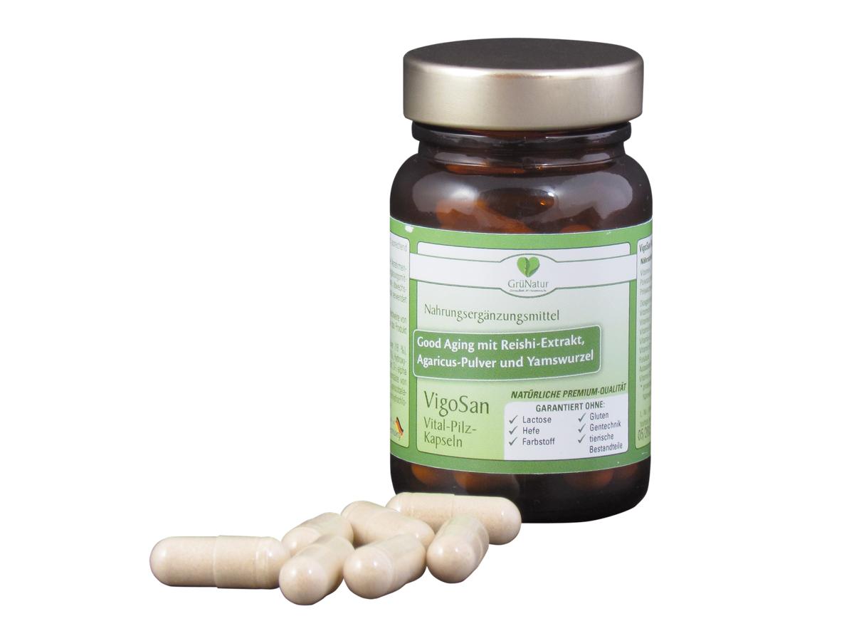 VigoSan Hormon-Power-Kapseln mit 10 Vitaminen (Füllmenge: 26,02 g = 30 Kapseln)