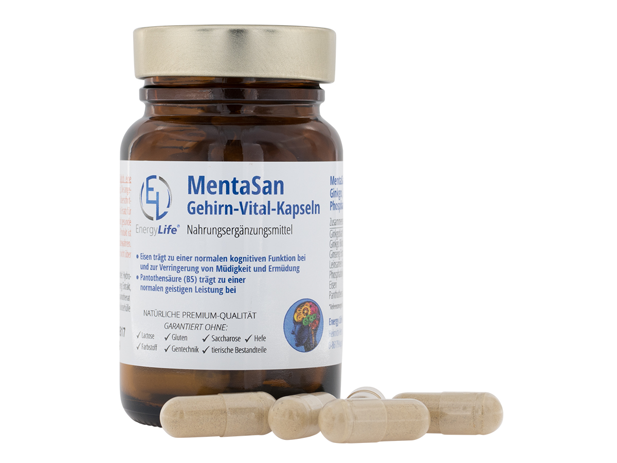 MentaSan Gehirn-Vital-Kapseln, Monatspackung