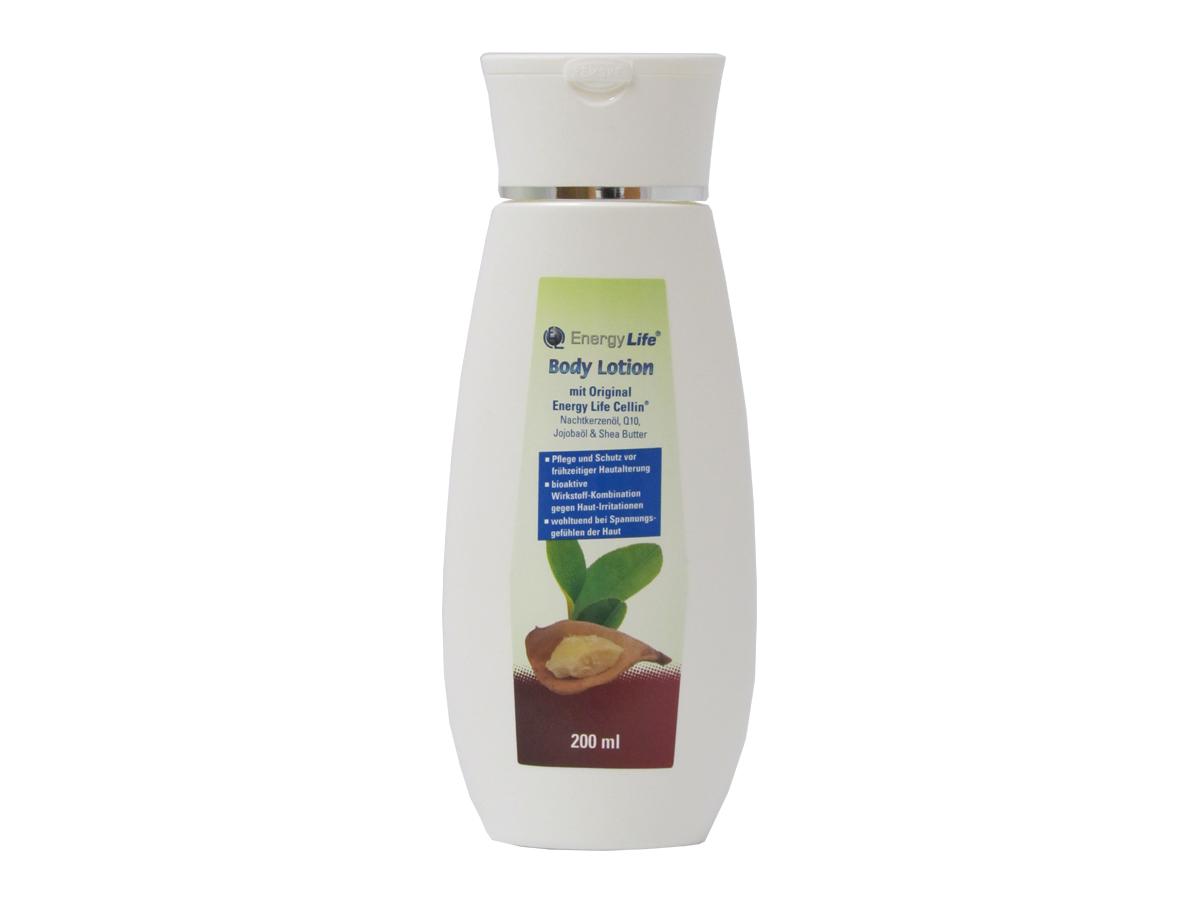 Body Lotion mit Nachtkerzenöl und Q10, 200 ml