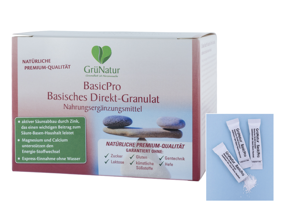 GrüNatur BasicPro, 60 x 2,8 gr.